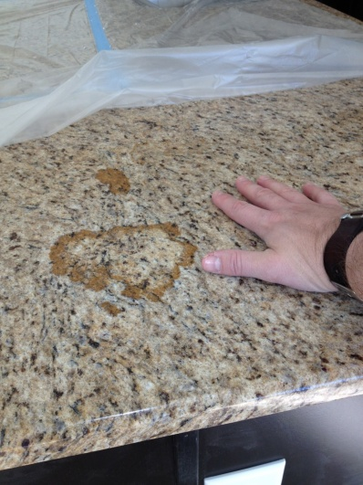 Poor Quality Granite Installation   HELP!