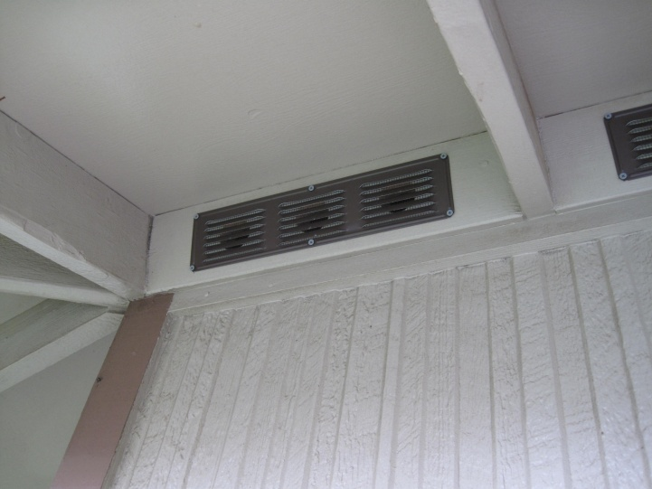 Aluminum Undereave Vent Residue Roofing Siding Diy