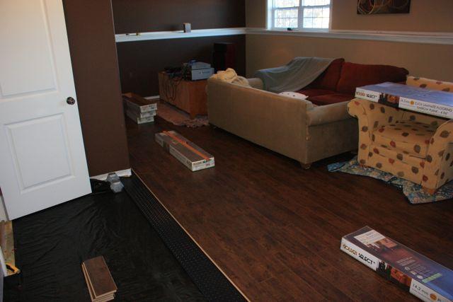 New Laminate Floor Installation Creaks Flooring Diy Chatroom