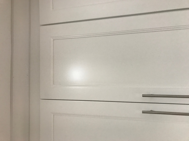 Covering Finish Nail Holes On Kitchen Cabinet Crown Molding ...