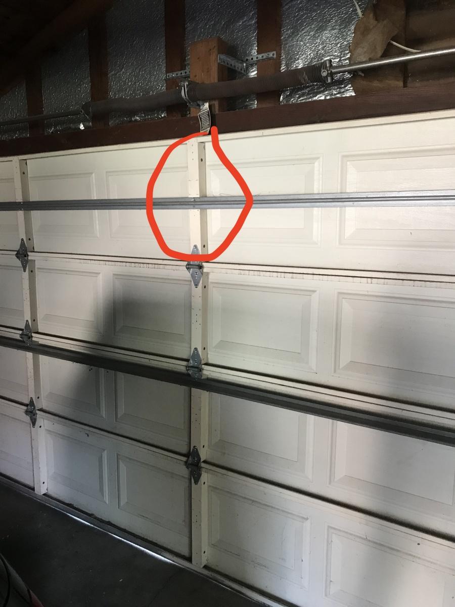 Garage Door Opener Install Question Windows And Doors