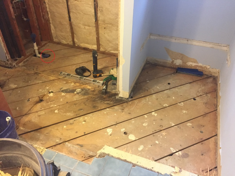 Sufficient Weight Distribution Tub Flooring Remodeling