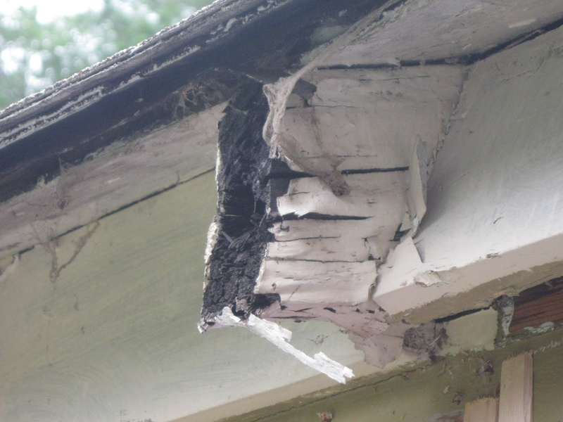 Repairing Rotted Rafter Tails Roofing Siding Diy Home