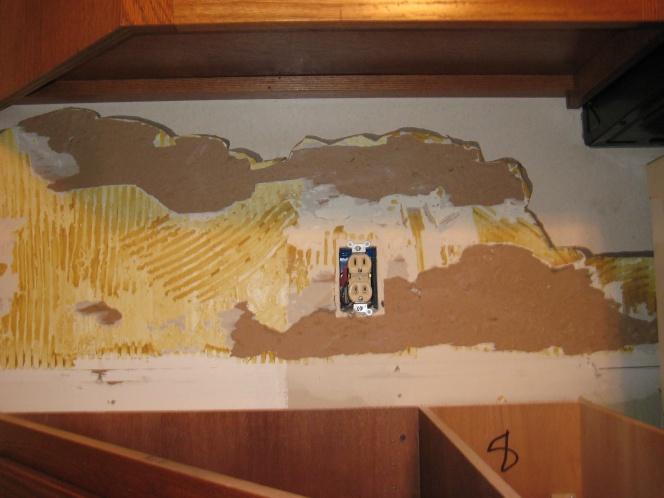 Kitchen Backsplash Removal tiling backsplash over laminate???? - tiling, ceramics, marble