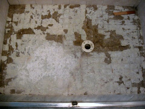 Replacing Tile Floor In Shower Flooring DIY Chatroom Home