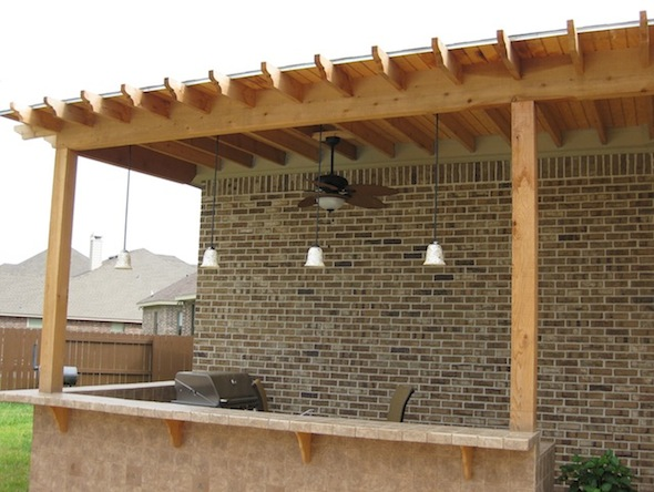 Outdoor Roof outdoor kitchen roof question - building & construction - diy