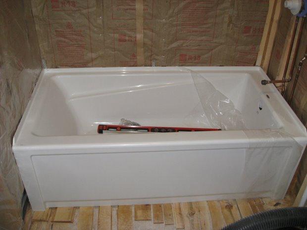 Maax soaking tub