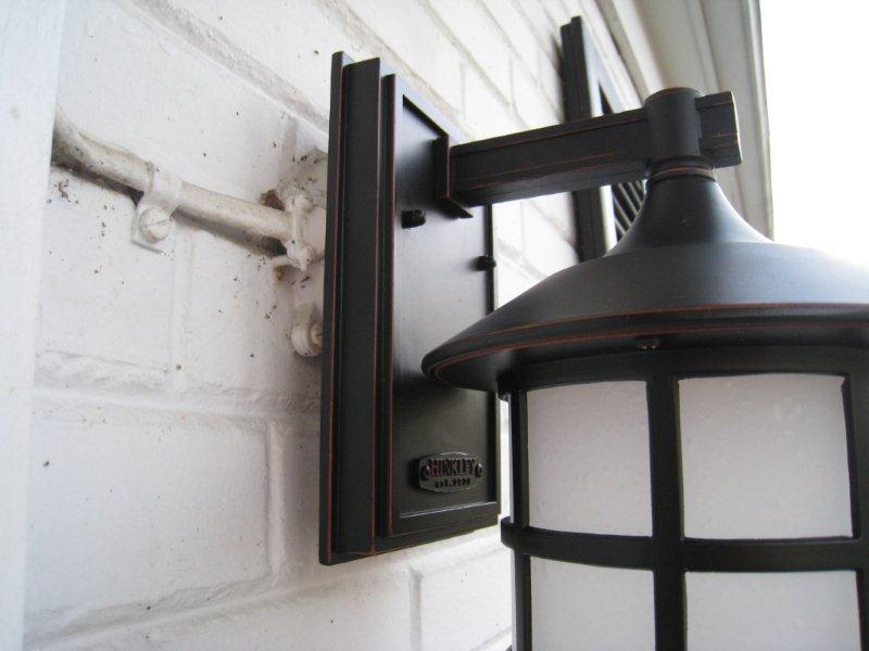 Installing Light On Round Junction Service Box Diy Home Improvement Forum