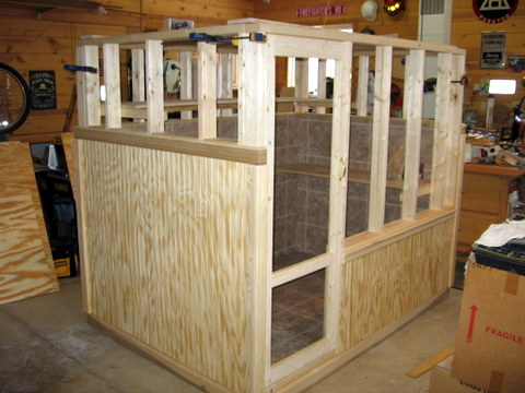 Ideas for Temporary half wall type partition with gate.-img_2870.jpg