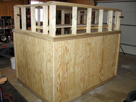 Ideas For Temporary Half Wall Type Partition With Gate. - Remodeling ...