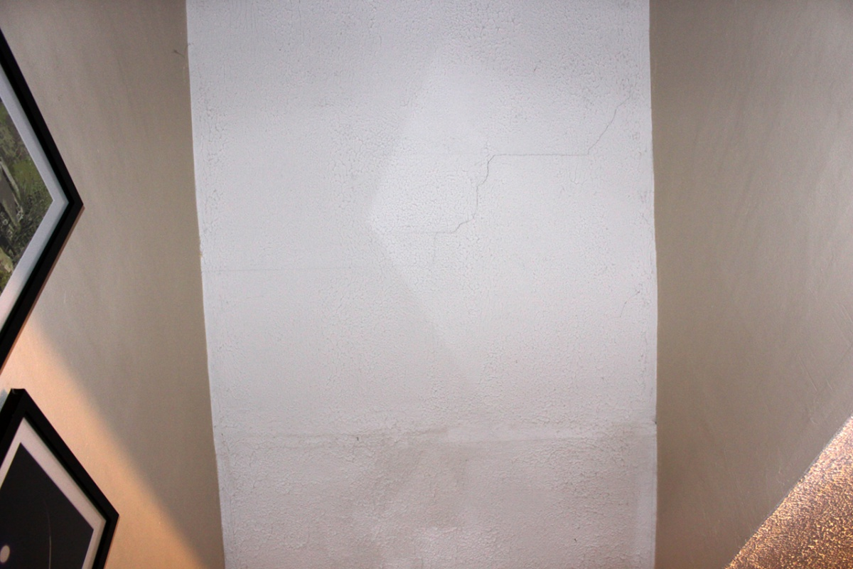 Confirm Kind Of 'Popcorn' Ceiling And Crack Repair - Drywall ...