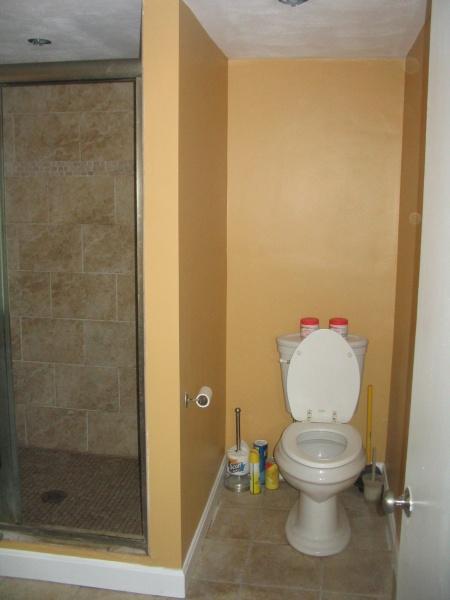 choosing a bathroom paint color - interior decorating