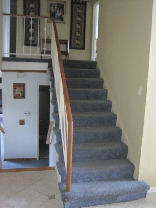 Should I Replace Wall Skirt When Installing New Retro Treads On Existing  Stairs Img_2996.