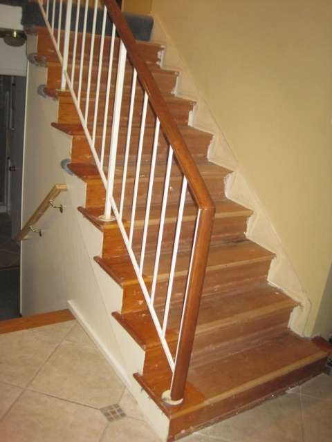 Should I Replace Wall Skirt When Installing New Retro Treads On Existing  Stairs Img_3005.