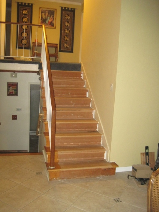Should I Replace Wall Skirt When Installing New Retro Treads On Existing  Stairs Img_3010.