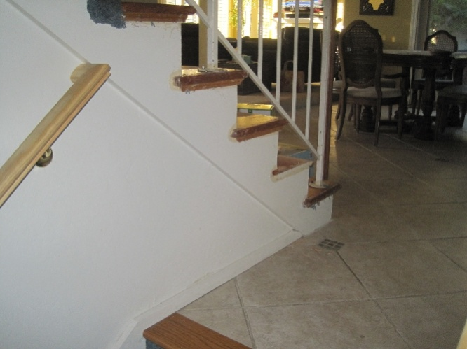 Should I Replace Wall Skirt When Installing New Retro Treads On Existing  Stairs Img_3022.