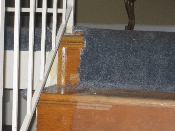 Should I Replace Wall Skirt When Installing New Retro Treads On Existing  Stairs Img_3026.