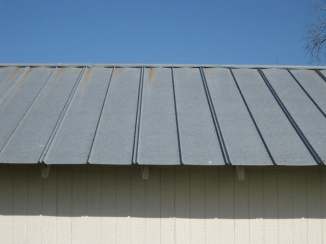 Installing A Metal Roof On A Shed Roofing Siding Diy