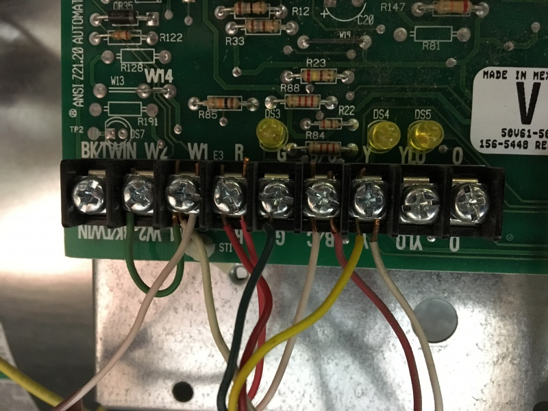 C Wire' Connection On American Standard Freedom 80 Comfort-R Control Board  - HVAC - DIY Chatroom Home Improvement ForumDIY Chatroom