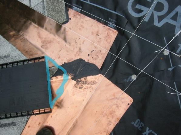 how to end ridge cap shingles