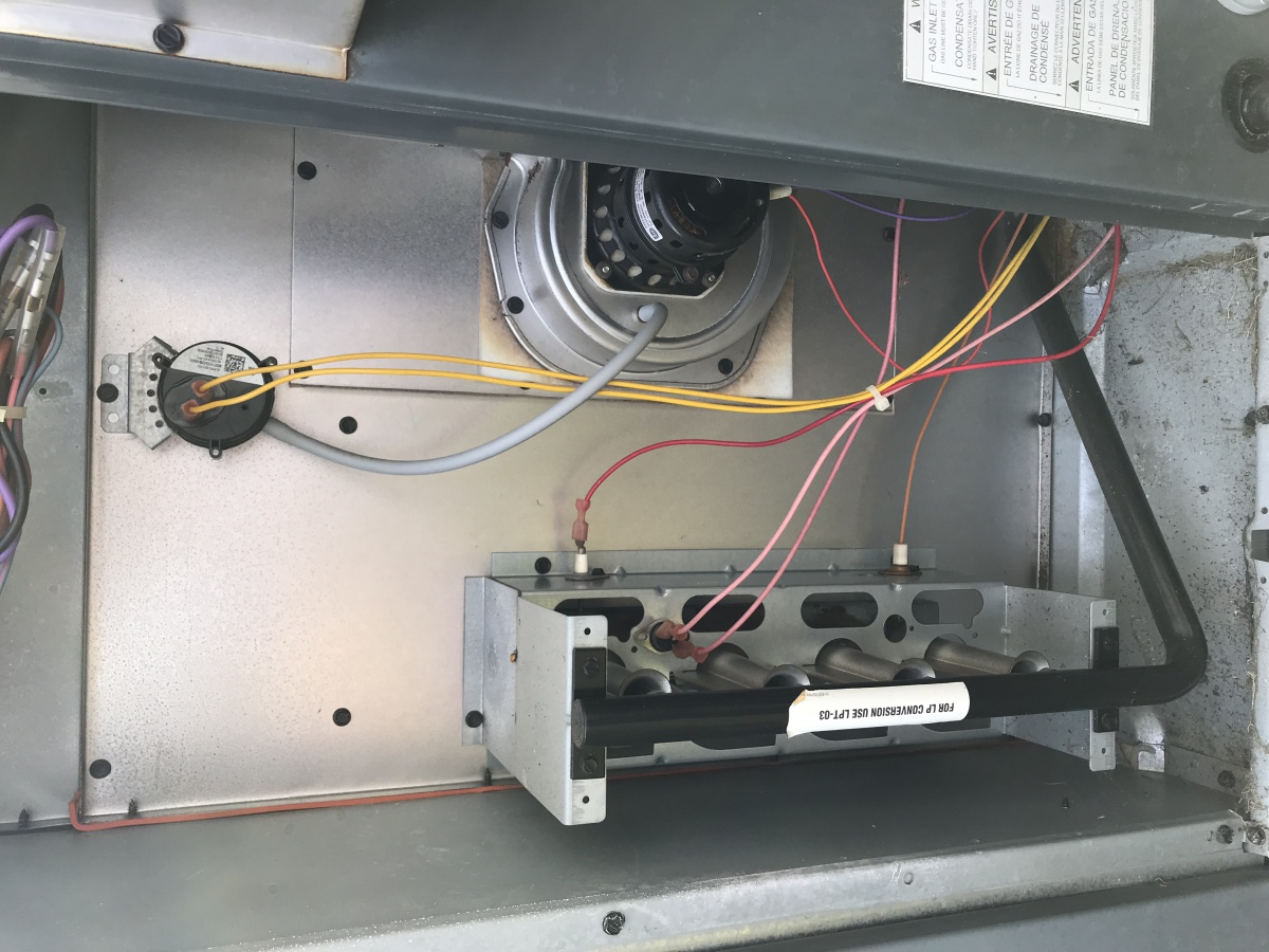 Goodman Packaged Unit Heating Problem Hvac Diy Chatroom Home Ac Wiring For Heater Img 3281