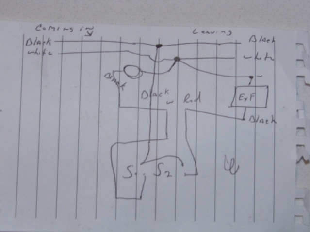 help w wiring diagram separate bath light and fan. Black Bedroom Furniture Sets. Home Design Ideas