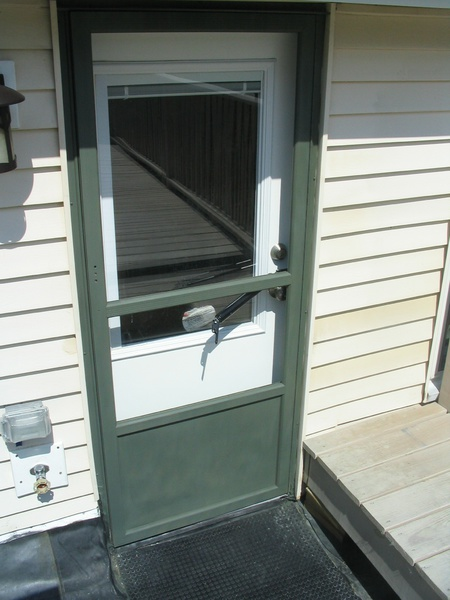 Painting An Aluminum Storm Door Img 3380 Jpg