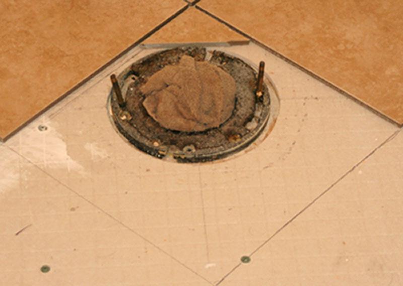 Elegant Redoing The Bathroom Floor Img_3668a