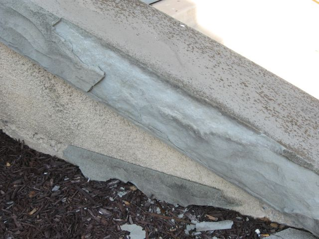 Slate wall cap flaking/cracking... how do I stop it?-img_3897.jpg
