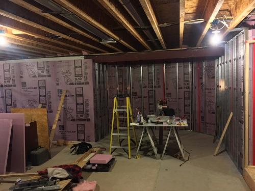 Metal Studs On Basement Walls Building Amp Construction