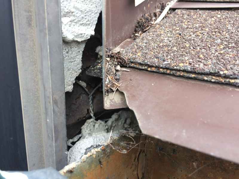 how to fix leaking stucco