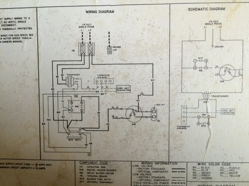 Locate Common Wire On Ruud Air Handler, Ruud Thermostat Wiring Diagram