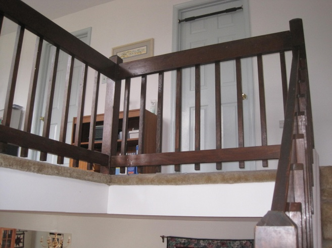Newel, baluster and railing project-img_4252.jpg