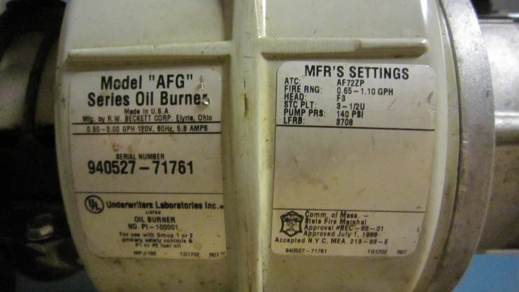 Intermittent Beckett Oil Burner Needs Reset Every Day - HVAC