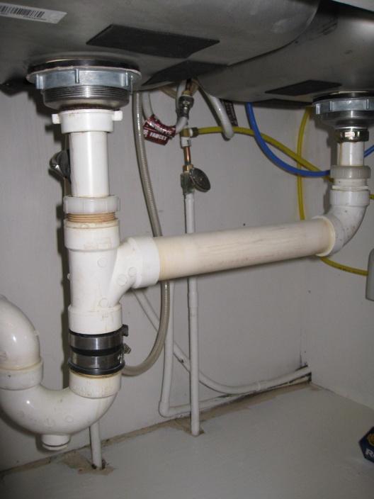 Garbage Disposal Under Double Sink Plumbing Diy Home