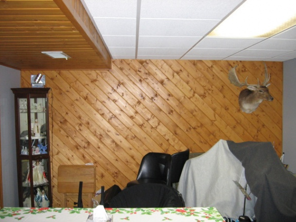 Tongue And Groove For Walls And Ceiling.