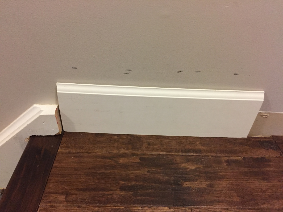 Baseboard Against Staircase Img_4435 ...
