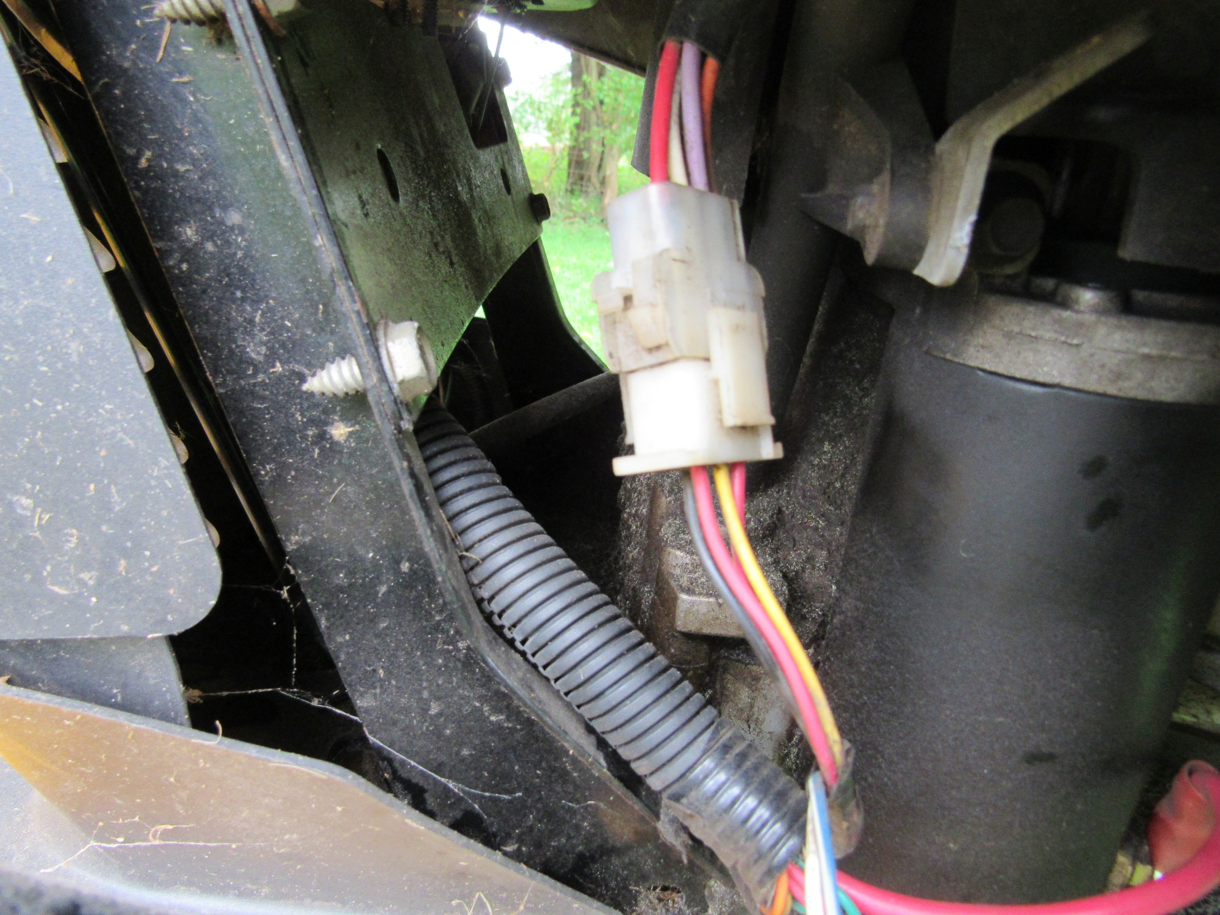 Cub Cadet Lt1045 Pto Issue W Pics Tractors Mowers Diy Wiring Diagram Img 4471
