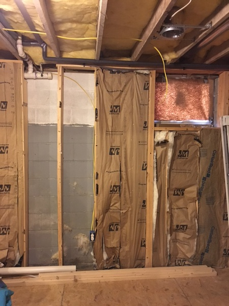 How Should I Insulate Basement Walls That Were Studded Out