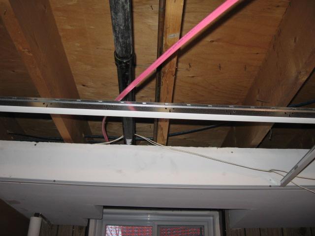Level a subfloor with sagging joist for hardwood floor-img_4500.jpg