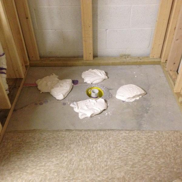 Basement Tub : Basement Bathroom Framing Question - Plumbing - DIY Home Improvement ...