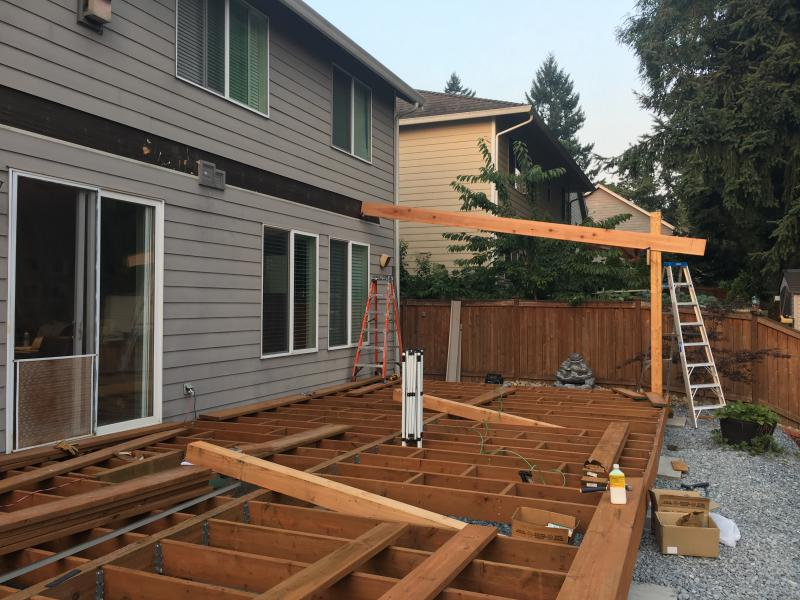 Help With Patio Cover And House Attachment Building