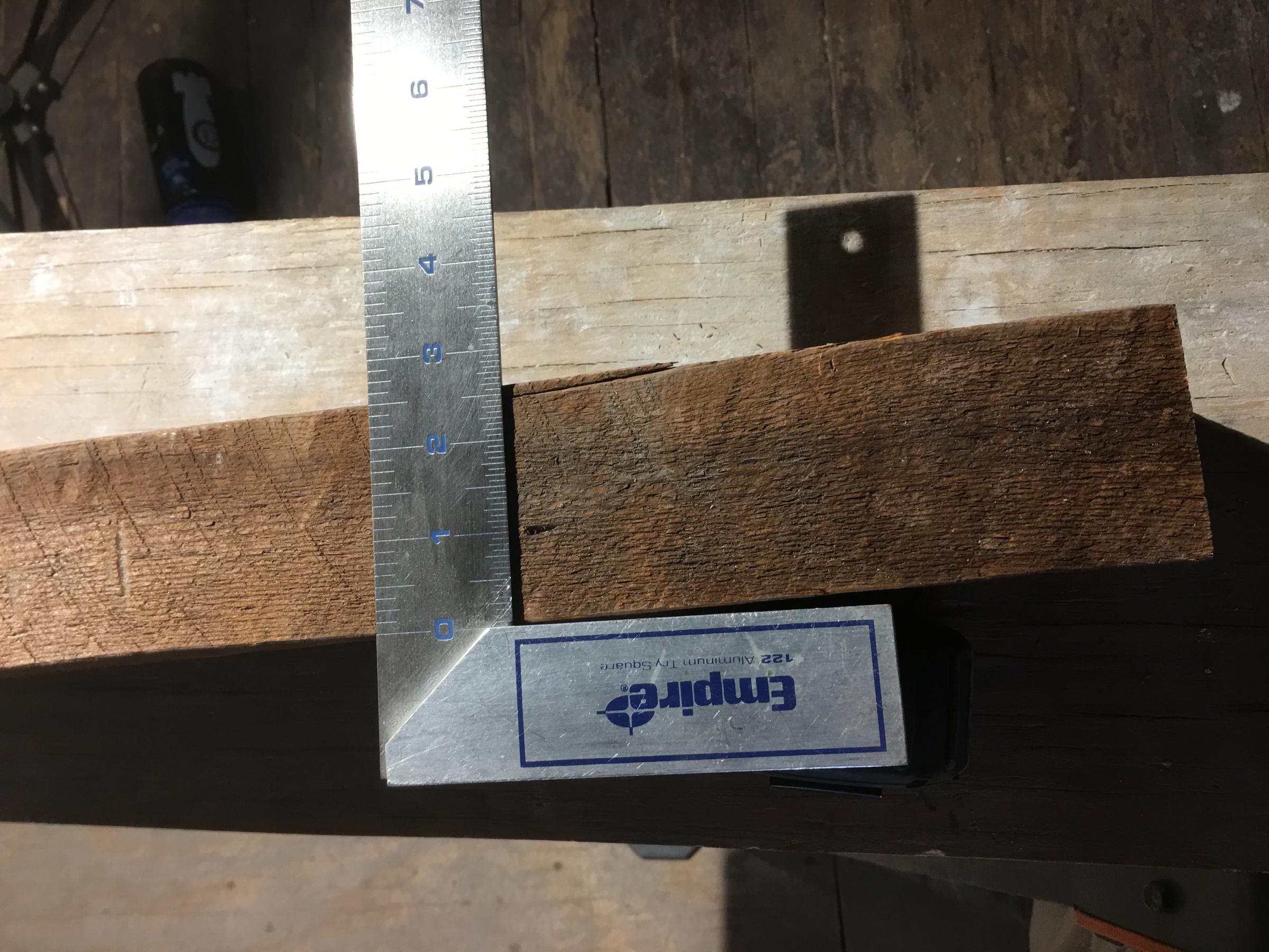 Relcaimed wood to build stair treads-img_4636.jpg