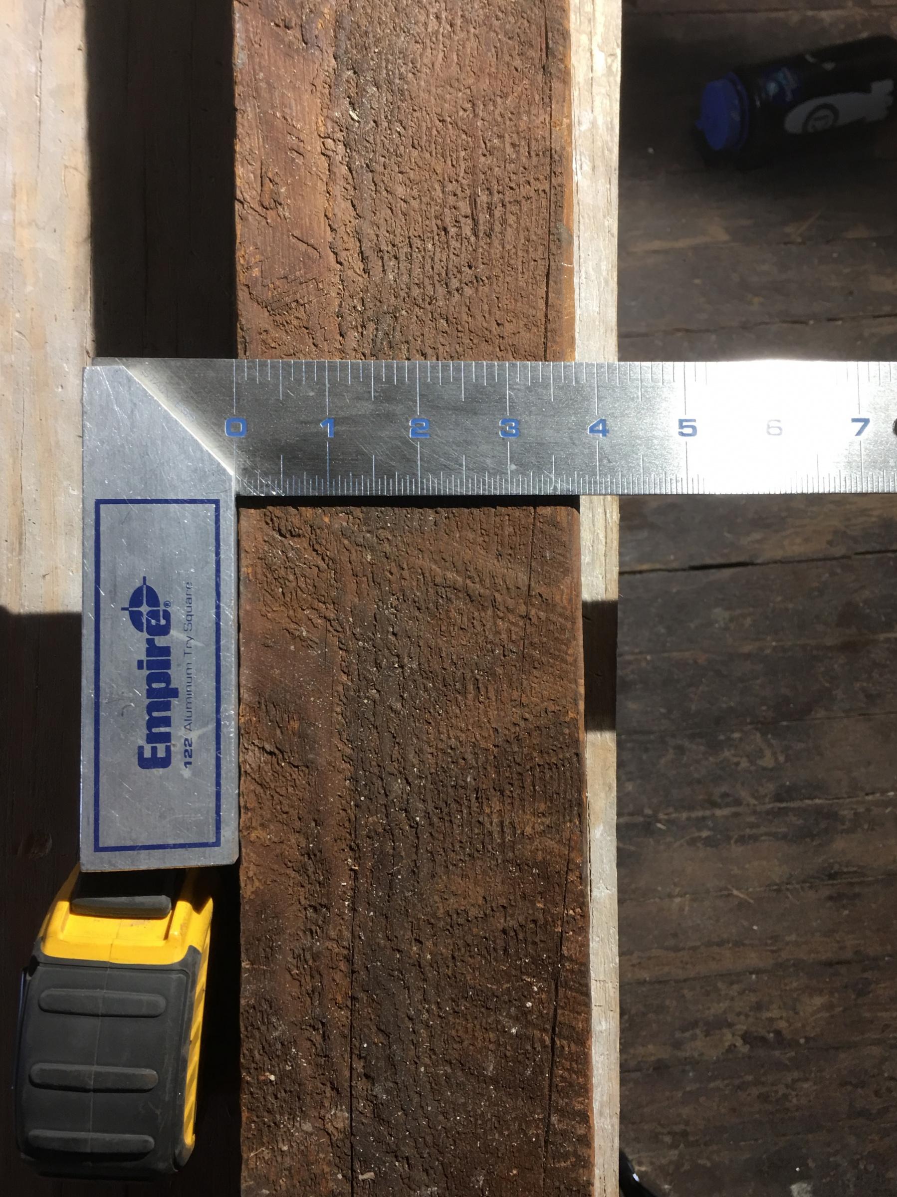 Relcaimed wood to build stair treads-img_4637.jpg