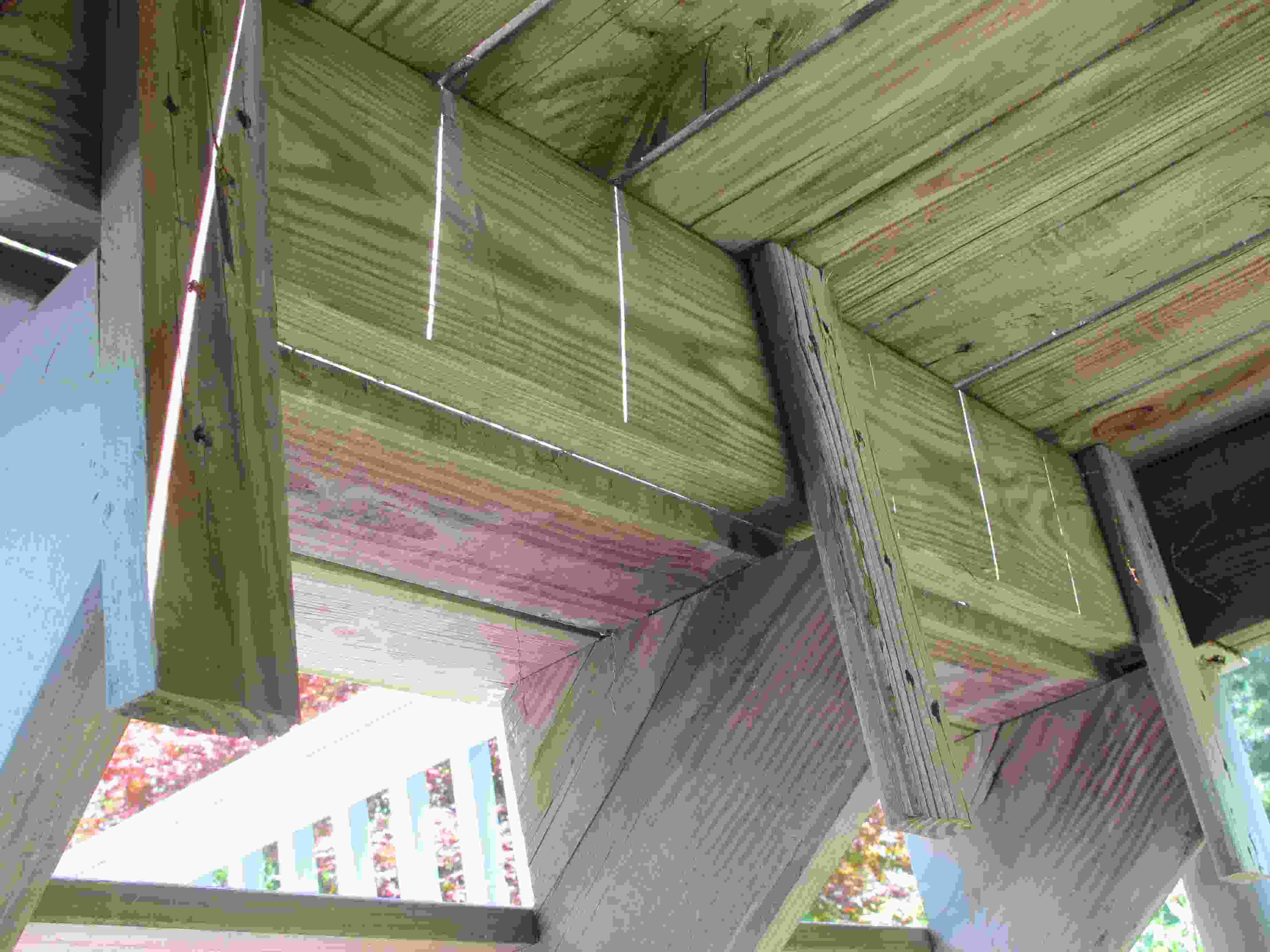 deck how to attach stringers building construction diy
