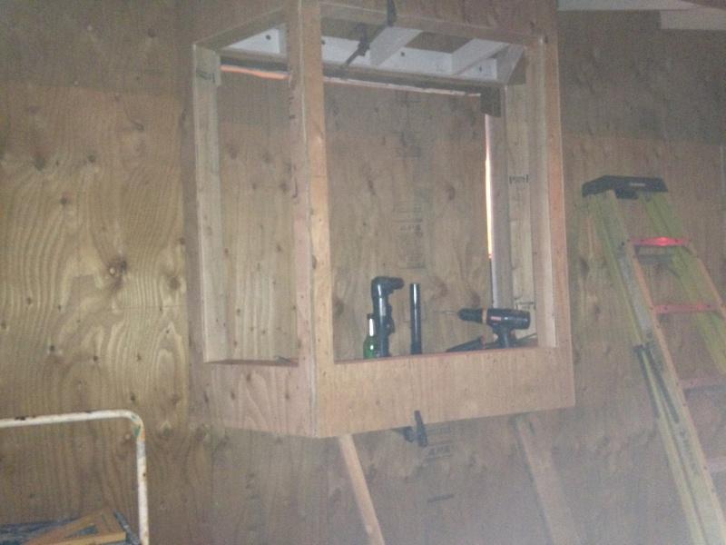 Kitchen bay window install building construction diy for Bay window installation