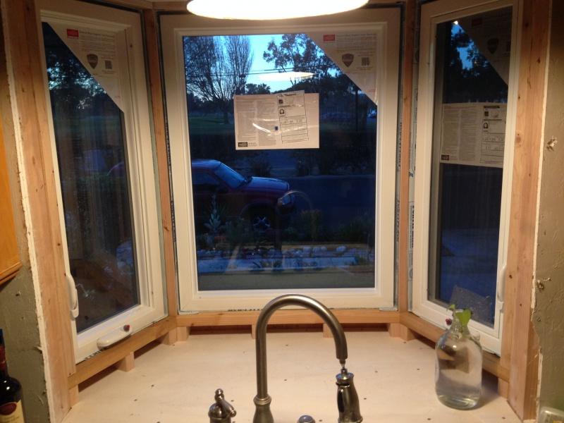 Kitchen Bay Window Install - Building & Construction - DIY ...