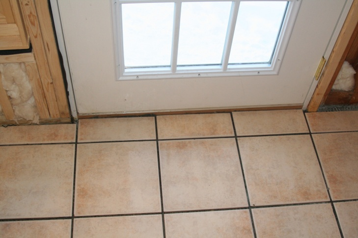My First (ceramic) Tile Floor, all down, without grout-img_4779.jpg