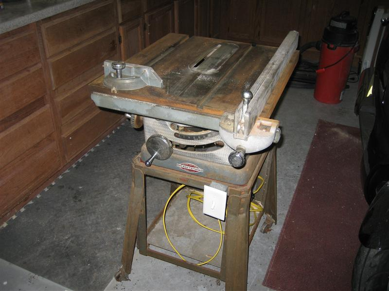 Ooooold table saw restoration tools diy chatroom home ooooold table saw restoration greentooth Choice Image