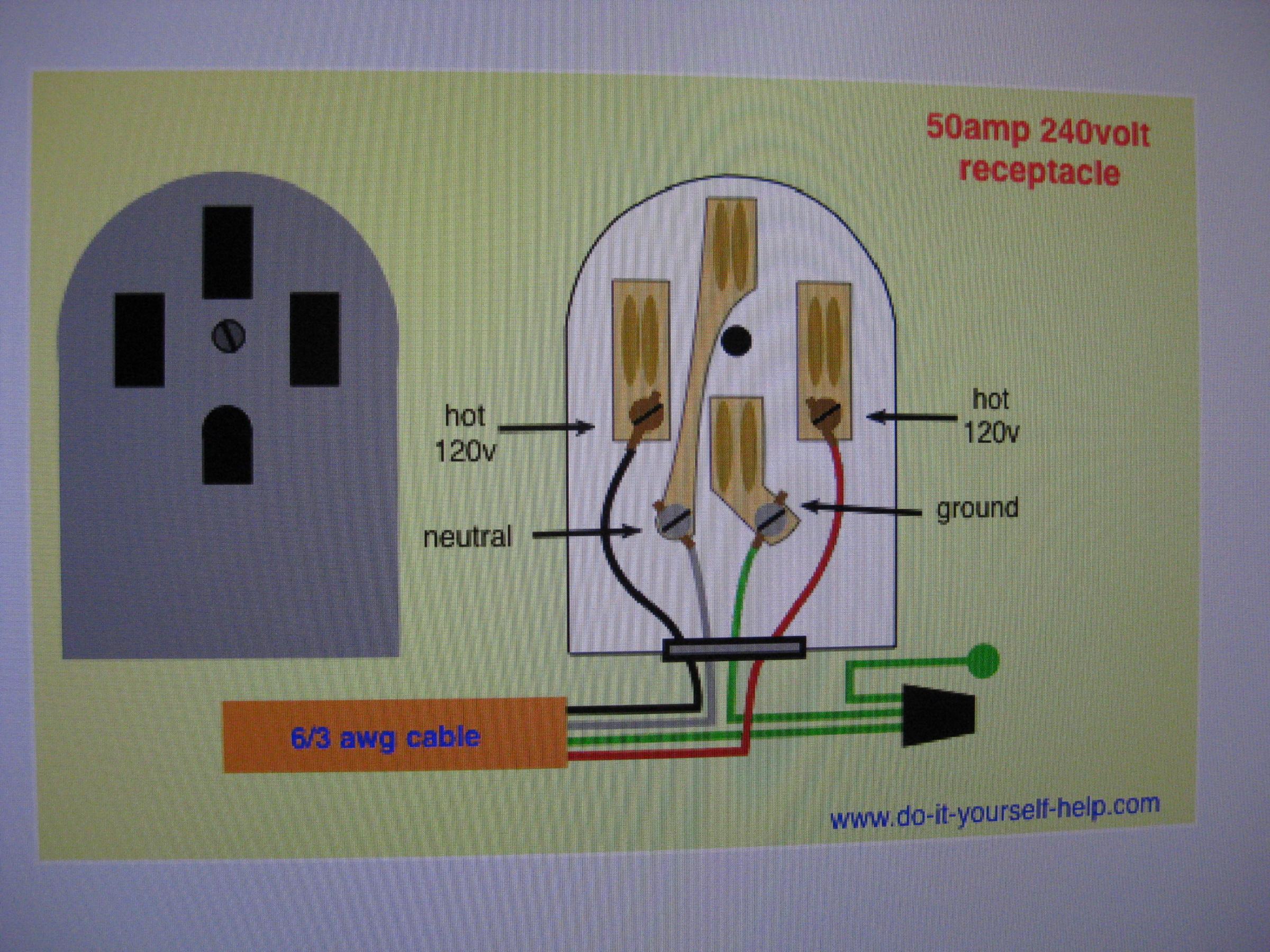 580553d1577071906t-rv-receptacle-question-img_4926  Amp Welder Plug Wiring Diagram on rv generator, round rv power plug, gfci breaker, locking receptacle rv, rv service box, rv extension cord, rv inverter, trailer receptacle, rv pedestal, welder outlet, welding receptacle, rv power,